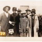 Antique African American Family Old Group Photo People Black Americana HS82
