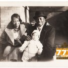 Antique African American Family Old Photo Cute Baby Black Americana HS78