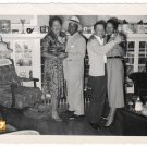 Vintage Dancing African American Couples Old Photo People Black Americana HS85