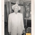 Vintage Older African American Man in Hat Photo Old Black Americana V066