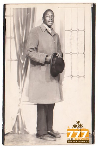 Vintage African American Handsome Young Man Hat Old Photo Black Americana V065