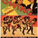 Swing Movie Poster Oscar Micheaux (1938)