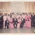 Vintage 1970s African American People Tuxedo Event Group Old Color Photo CO05