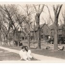 Antique African American Women in Neighborhood Old Photo Black Americana HS93