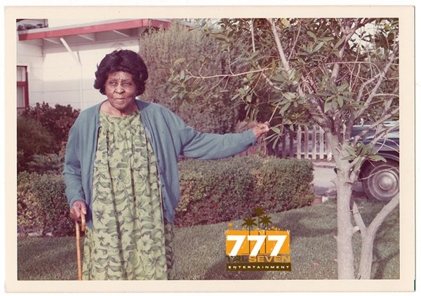 Vintage 1970s African American Woman in Wig Old Color Photo Black Americana CO02