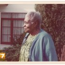 Vintage 1970s African American Older Woman Old Color Photo Black Americana CO01