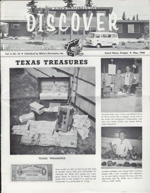 Discover Newsletter May 1968 White's Electronics