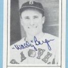 Wally Berger TCMA Autographed card 1978