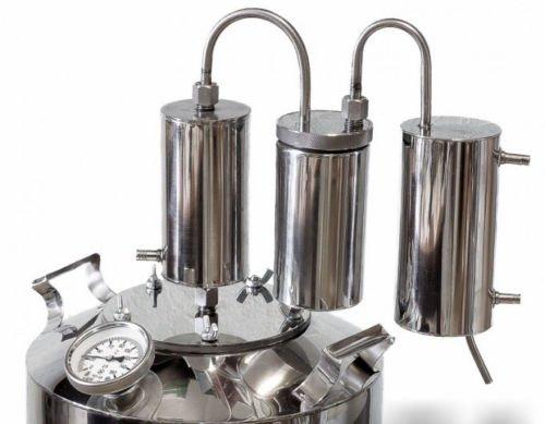 3Gal Alcohol distiller Moonshine still reflux vodka whiskey home brew 12L boiler