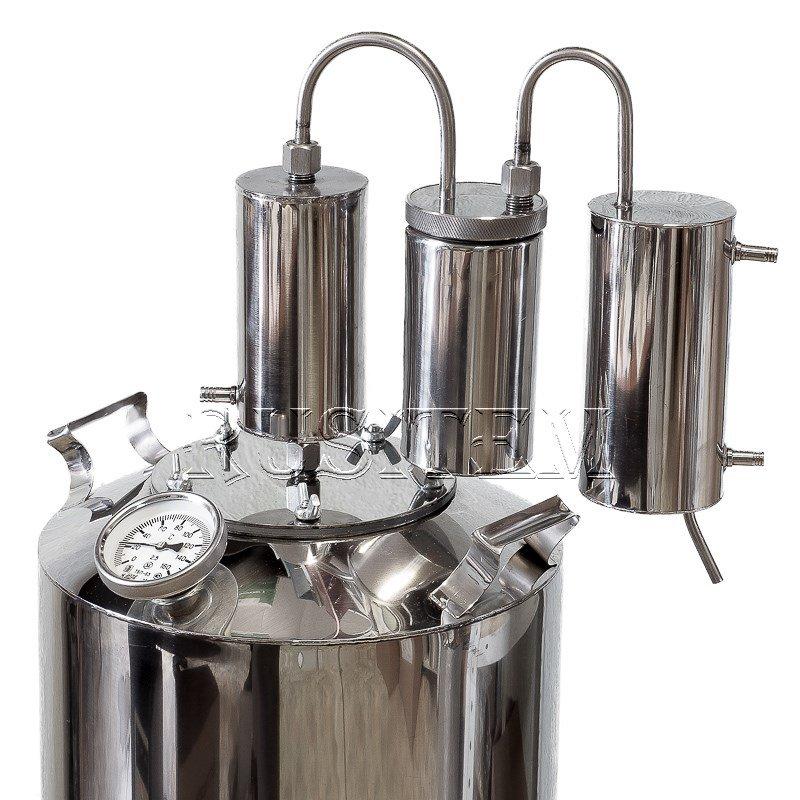 5 Gal Alcohol distiller Moonshine still reflux whiskey still pot home brew kit