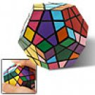 Dodecahedron Puzzle Cube 12-Color 3 x 3 Twisty Teaser Toy