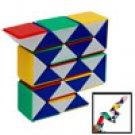 Interesting Colorful Plastic Magic Cube Puzzle Kids Toy