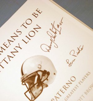 What it Means to be a Nittany Lion Signed Book Denny Onkotz Richie Lucas Lou Prato