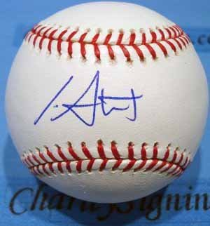 Ian Stewart Autographed Major League Baseball Colorado Rockies