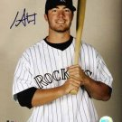 Ian Stewart Autographed 8x10 Photo Colorado Rockies