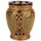 Warm Brown Ornate Tart Electric Ceramic Warmer