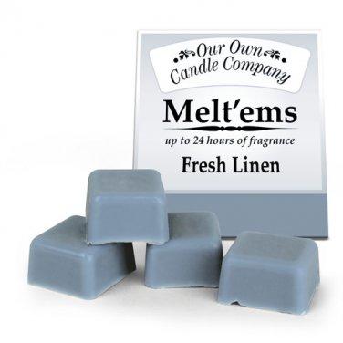 Fresh Linen Melt'ems Warmer Tarts