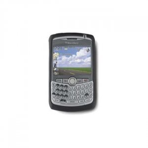 ash white blackberry curve silicone case (PHONE NOT INCLUDED)