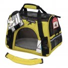 Pet Carrier Sided Cat / Dog Travel Tote Bag Airline Approved Spanish Yellow