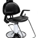 New Black All Purpose Salon Hydraulic Recline Barber Chair Shampoo 87B