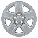 "TOYOTA RAV-4 Wheel Skin 1 Piece 17"" Inch 5 Spoke Fit Hub Caps CHROME Rims Covers"