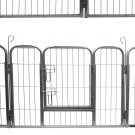 Dog Pet Playpen Heavy Duty Metal Exercise Yard Fence Hammigrid 8 Panel 24""