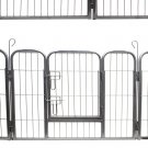 Dog Pet Playpen Heavy Duty Metal Exercise Yard Fence Hammigrid 8 Panel 32""