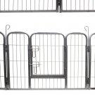 "Dog Pet Playpen Heavy Duty Metal Exercise Yard Fence Hammigrid 8 Panel 32"""