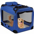Dog Crate Soft Sided Pet Carrier Fordable Training Kennel Portable Cage House-XL