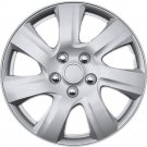 "QTY 1 Piece A/M Silver ABS Fits 2010 2011 TOYOTA CAMRY 16"" Wheel Cover Hub Caps"