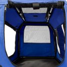 Dog Crate Soft Sided Pet Carrier Foldable Training Kennel Portable Cage House-SM
