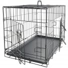 New Pet Crate Kennel Cage & Bed Pad Cushion Warm Soft Cozy House Kit Playpen 48""