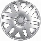 "Silver Hub Cap Fits 2002-10 16"" Aftermarket Wheel Cover Fits Toyota Sienna"