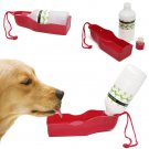 Portable Pet Travel Water Bowl Bottle Dispenser Feeder Dog Cat Drinking Fountain