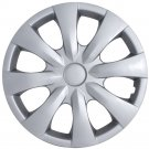 "QTY 1 Piece A/M Silver ABS A/Ms 2008 2009 TOYOTA COROLLA 15"" Wheel Cover Hub Cap"