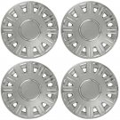 "Mercury Grand Marquis 4 Pc Set Snap On 16"" CHROME Hub Cap Steel Wheel Skin Cover"