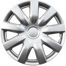 "1 Piece Set A/M Silver ABS Fits 1999 2006 2015 Volkswagen 15"" Auto Wheel Hub Cap"