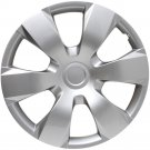 """16"""" Silver Hubcap Fits 2007 '08 '09 Aftermarket Wheel Cover Fits Toyota Camry"""