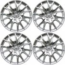 4 Pc Set Chevy Impala 08 Center Caps Steel Wheels Rims Pop In Hub Cover