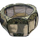 BestPet Small Dog Cat Tent Puppy Playpen Exercise Pen With Carry Case Camouflage