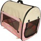 New BestPet Pet Carrier Soft Cat/Dog Travel Shoulder Bag w/Carry Case Pink