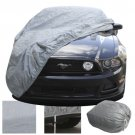 New 2 Layer Fitted Indoor Car Cover Free Storage Bag & Cable