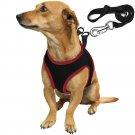 """Puppy Dog Pet Soft Clothes Walk Vest Harness Brace Long 60"""" Nylon Leash"""
