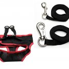 "New Puppy Dog Pet Soft Clothes Walk Vest Harness Brace 60"" Nylon Leash Large"