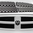 Grille Overlay 13-15 Dodge Ram Snap On CHROME Grill Covers Trim Inserts NEW