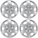 "4 Piece Set A/M Silver ABS Fits PT CRUISER 15"" Wheel Cover Hub Cap"