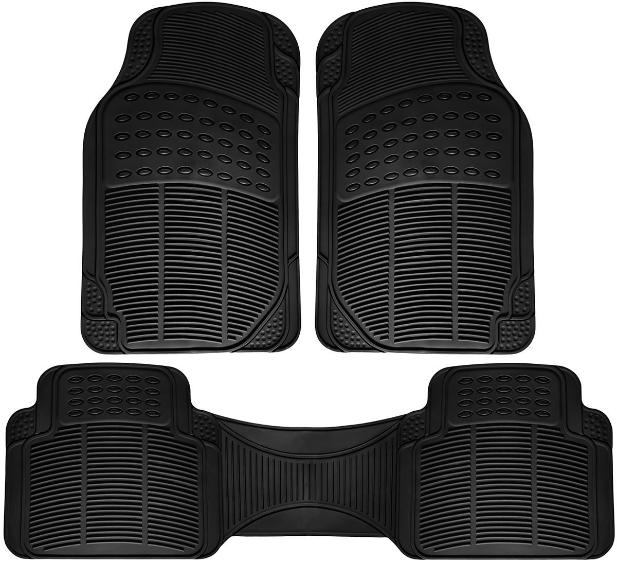 Car Floor Mats For Acura TL 3pc Set All Weather Rubber