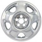 "Wheel Skins for HONDA CRV QTY 1 Piece of 17"" Inch A/M Hub Caps CHROME Rim Covers"