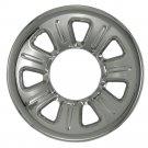 "Ford Ranger Wheel Skin 1 Piece 15"" Inch Hub Caps CHROME 7 Spoke 5 Lugs Rim Cover"