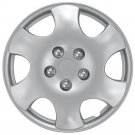"""1 Piece A/M Silver ABS Fits 2003 2004 TOYOTA COROLLA 15"""" Wheel Cover Hub Cap"""